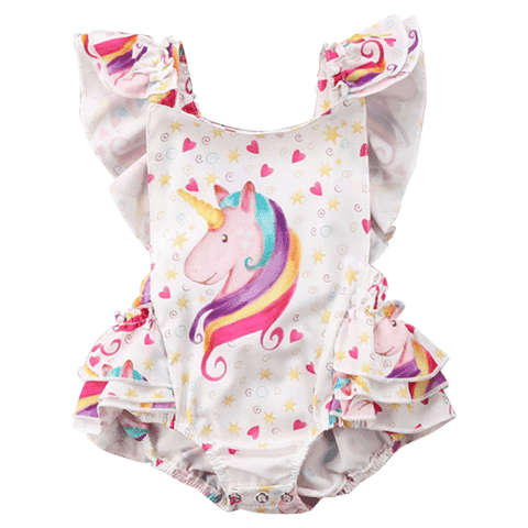 Petite Bello Playsuit 0-6 Months Nova Unicorn Playsuit