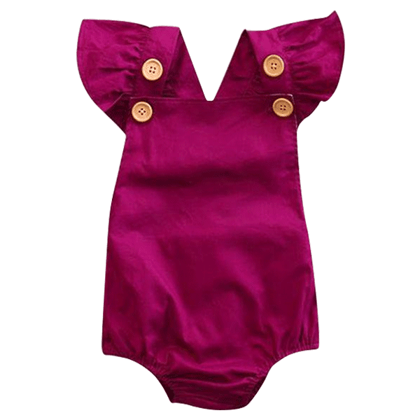 Petite Bello Playsuit 0-6 Months Purple Backcross Playsuit