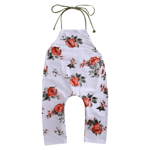 Petite Bello Playsuit 6-12 Months Cecelia Floral Playsuit