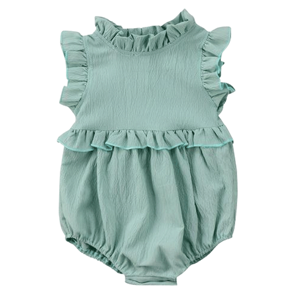 Petite Bello Playsuit Green / 0-6 Months Amaya Sleeveless Playsuit