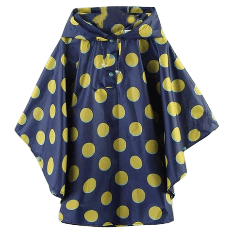 Petite Bello raincoat Blue S Polka Dot Raincoat
