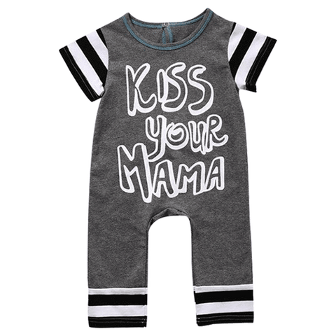 Petite Bello Romper 0-6 Months Kiss Your Mama Romper