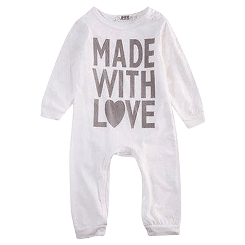 Petite Bello Romper 0-6 months Made with Love Romper