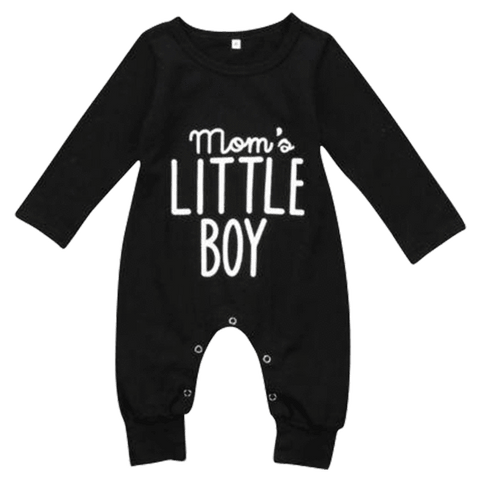 Petite Bello Romper 0-6 Months Mom's Little Boy Romper
