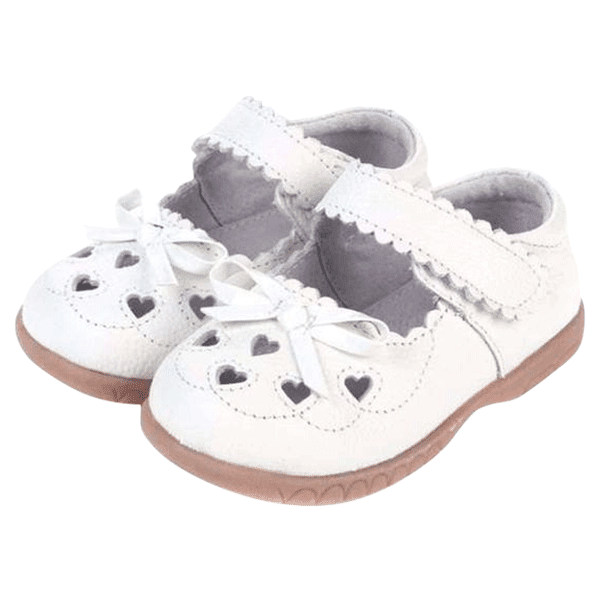 Petite Bello SHOES 6 Girl White Shoes
