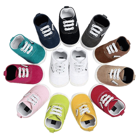 Petite Bello Shoes Baby Canvas Sneakers
