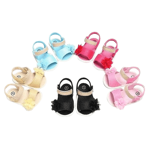 Petite Bello Shoes Baby Girl Flower Sandals