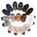 Petite Bello Shoes Baby Leather Moccasins