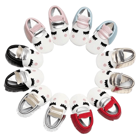 Petite Bello shoes Baby Unicorn Moccasins