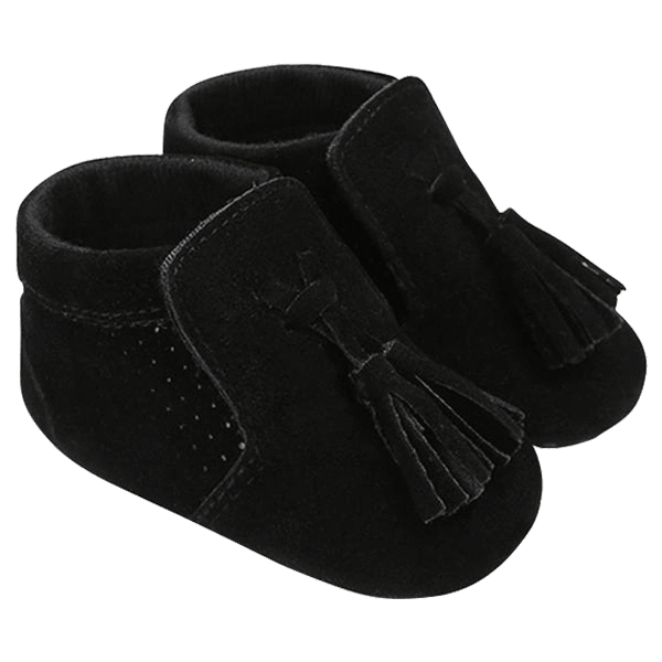 Petite Bello Shoes Black / 12-18 Months Baby Cute Tassel Shoes