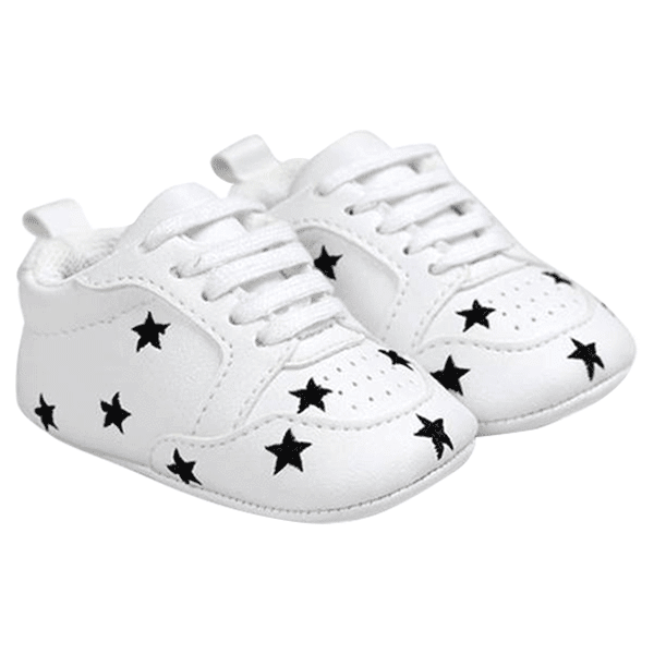 Petite Bello Shoes Black star / 12-18 Months Baby First Walker Shoes