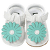Petite Bello Shoes Blue / 0-6 Months Cute Floral Sandals