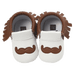 Petite Bello Shoes Dark Khaki / 12-18 Months Little Mustache Pre-walkers