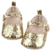 Petite Bello Shoes Gold / 0-6 Months Glittering Shoes