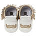 Petite Bello Shoes Gold / 12-18 Months Little Mustache Pre-walkers