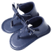 Petite Bello Shoes Navy Blue / 0-6 Months Baby Bowknot Sandals