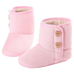 Petite Bello Shoes Pink / 0-6 Months Ashley Heart Boots
