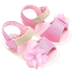 Petite Bello Shoes Pink / 0-6 Months Baby Girl Flower Sandals
