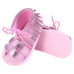 Petite Bello Shoes Pink / 0-6 Months Baby Girl Tassel Sandals
