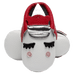 Petite Bello shoes Red / 0-3 Months Baby Unicorn Moccasins