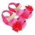 Petite Bello Shoes Red / 0-6 Months Baby Girl Flower Sandals