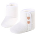Petite Bello Shoes White / 0-6 Months Ashley Heart Boots