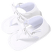 Petite Bello Shoes White / 0-6 Months Baby Bowknot Sandals
