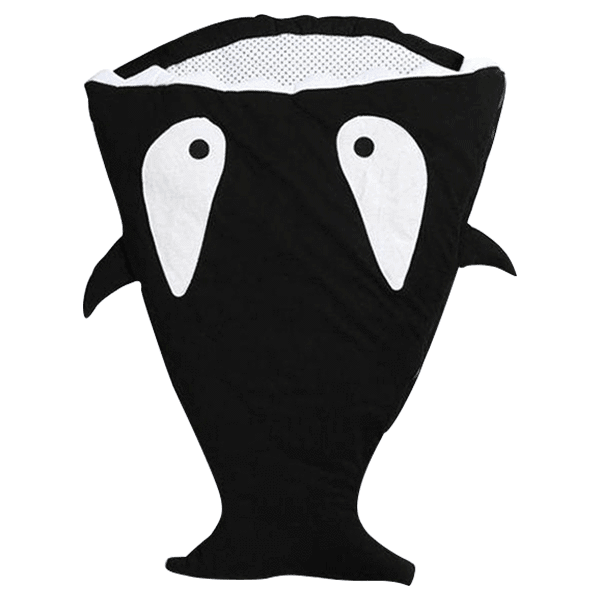 Petite Bello Sleeping Bag Black Baby Shark Sleeping Bag