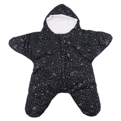 Petite Bello Sleeping Bag Black Baby Starfish Sleeping Bag