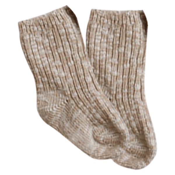 Petite Bello Socks Beige socks / 6-12 Months Petite Winter Sock