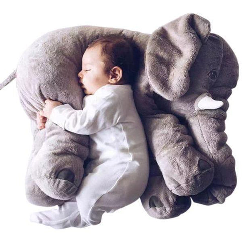Petite Bello Stuffed Toy Big Sleeping Elephant