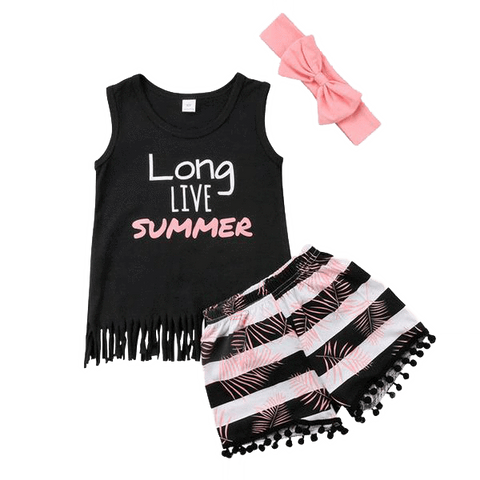 Petite Bello Summer Set 1-2T Long Live Summer Set