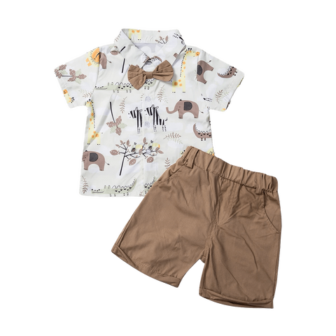 Petite Bello Summer Set 12-18 Months Stay Wild Summer Set