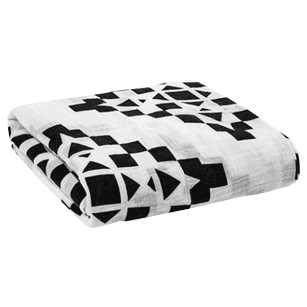 Petite Bello swaddle blanket Geo Geo Swaddle Blanket