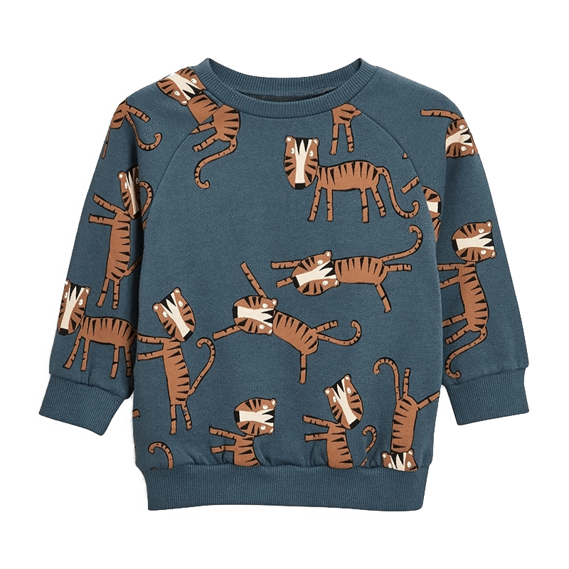 Petite Bello Sweatshirt 2T Gray Tiger Sweatshirt