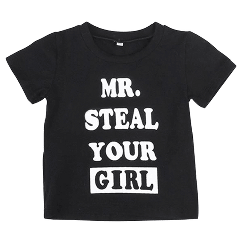 Petite Bello T-Shirt 1T Mr. Steal Your Girl T-Shirt
