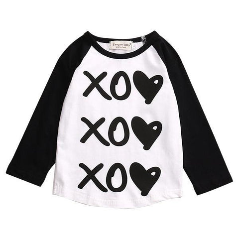 Petite Bello T-shirt Black / 12-18 months Xoxo T-shirt