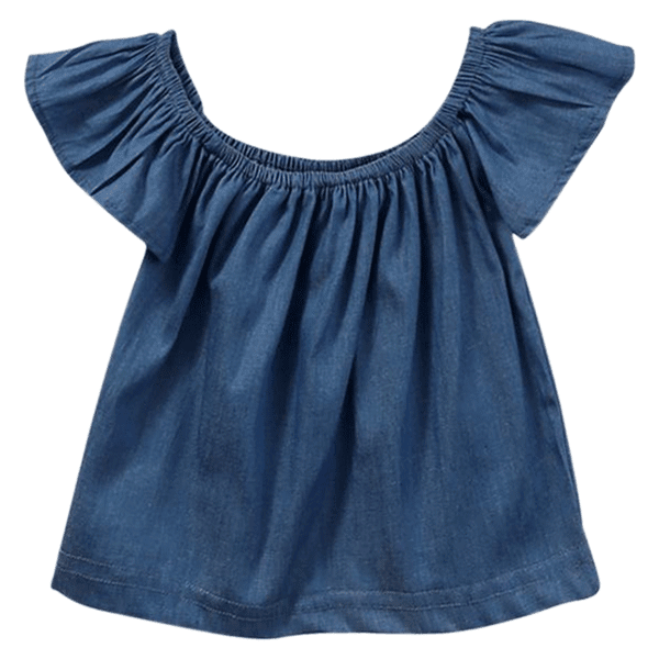 Petite Bello Top 2T Denim Top