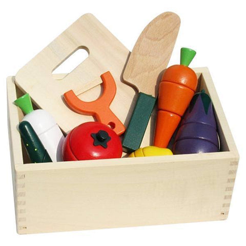 Petite Bello wooden toy Wooden Kitchen Box