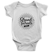 teelaunch Bodysuit Baby Onesie / White / NB Grandparents Day Bodysuit (black writing)