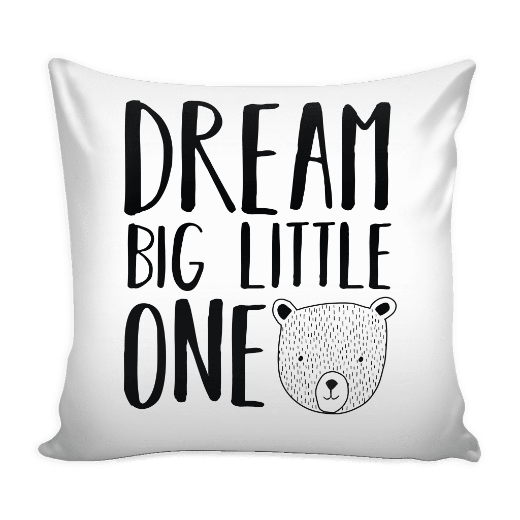 teelaunch Pillows Dream Big Little One Pillow Cover Dream Big Little One Pillow Cover