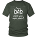 teelaunch T-shirt District Unisex Shirt / Olive / S I'm a Dad Men's T-Shirt