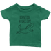 teelaunch T-shirt Infant T-Shirt / Grass Green / 6M Born To Be A Unicorn Infant T-Shirt