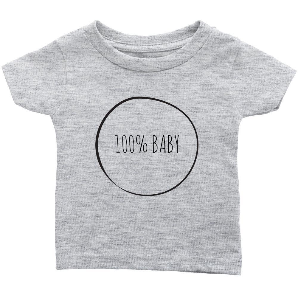 teelaunch T-shirt Infant T-Shirt / Heather Grey / 6M 100% Baby Infant T-Shirt