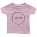 teelaunch T-shirt Infant T-Shirt / Light Pink / 6M 100% Baby Infant T-Shirt