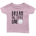 teelaunch T-shirt Infant T-Shirt / Light Pink / 6M Dream Big Bear Infant T-Shirt
