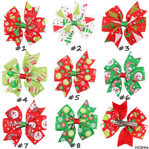 30 pcs/lot ,Hot Ribbon Christmas Hair bow Boutique Bows for Hair Accessories