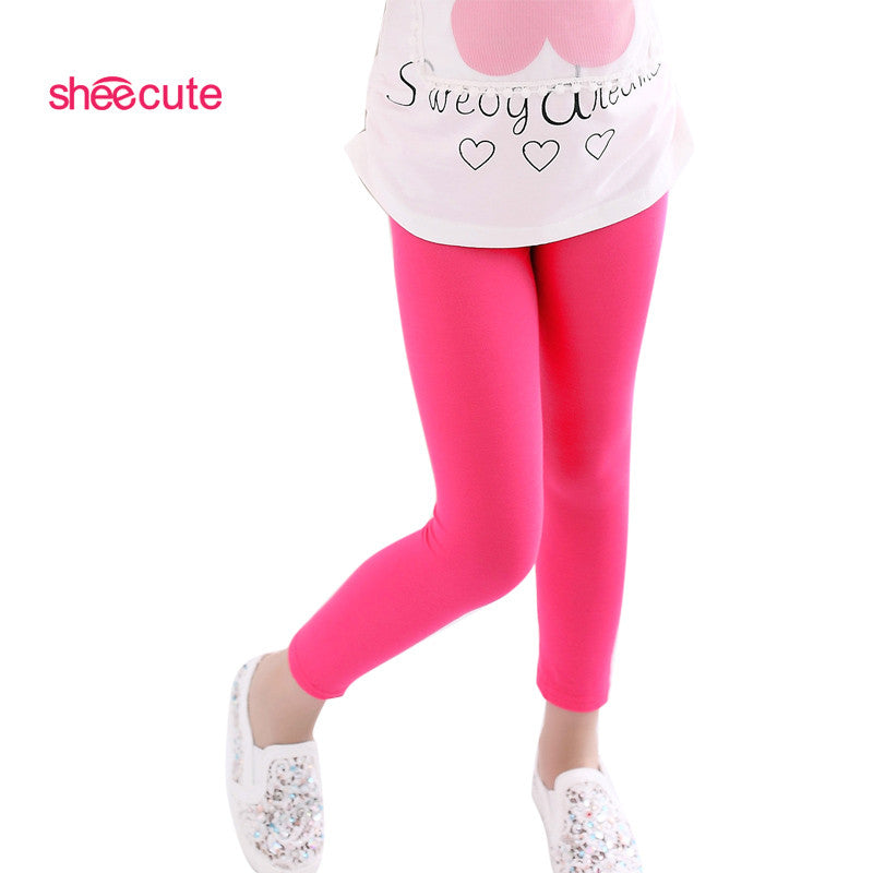 Solid color leggings, assorted colors