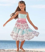 traditional summer new design young girl dress maxi halter dress