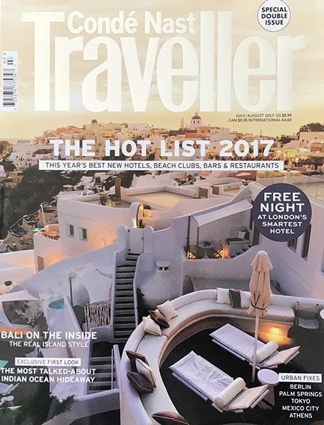 Condé Nast Traveller July/August 17